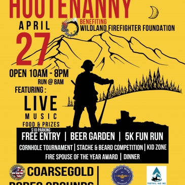 2019 Sierra Hootenanny Benefiting Wildland Firefighter Foundation